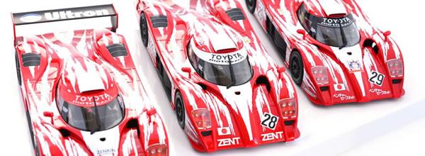 Revoslot: les photos du coffret Toyota GT-One Le Mans 1998