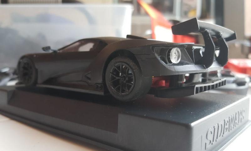 Sideways dévoile le premier sample de la Ford GT pour le slot