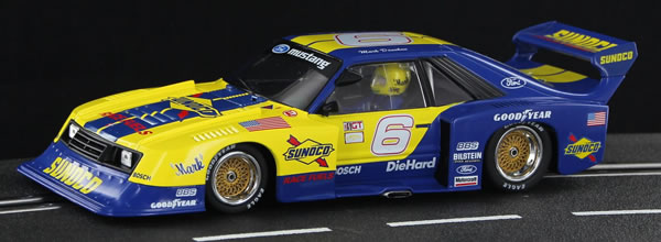 Sideways : la Mustang Turbo – Sunoco Decoration Edition Limited
