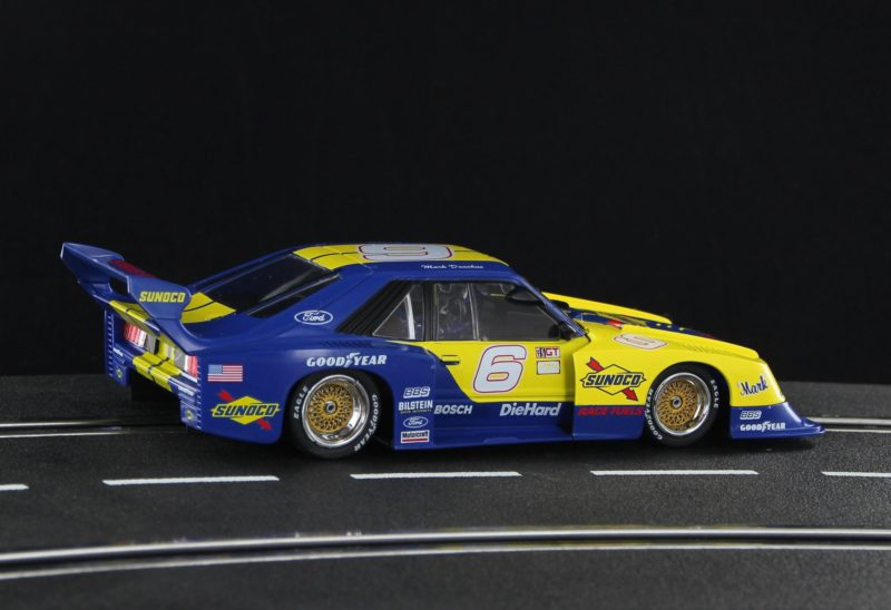 Sideways  la Mustang Turbo – Sunoco Decoration Edition Limited