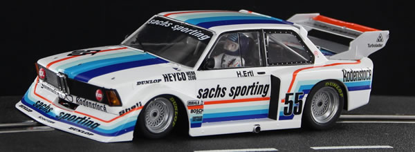 Sideways: la BMW 320 Turbo Sachs-Sporting DRM Hockenheim 78