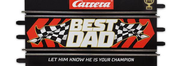 """Carrera: Un rail """"Best Dad"""" pour la fête des pères"""