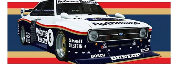 Ford Escort Zakspeed - Team Slot