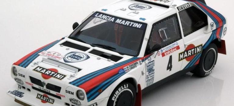SRC: Dernière ligne droite pour la Lancia Delta S4
