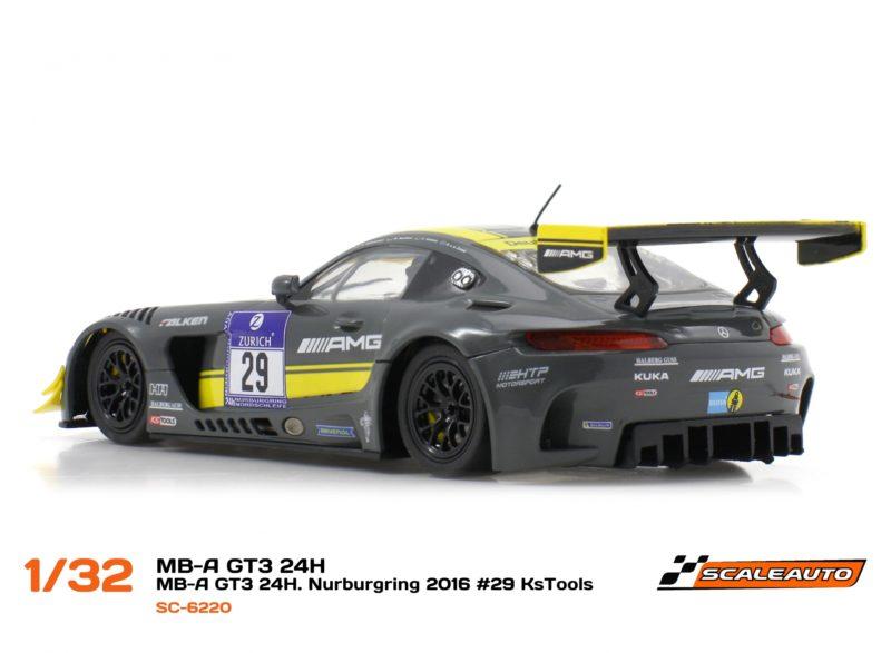 MB-A GT3 24h. Nurburgring 2016 #29 HTP Motorsport Kstools (SC-6220)