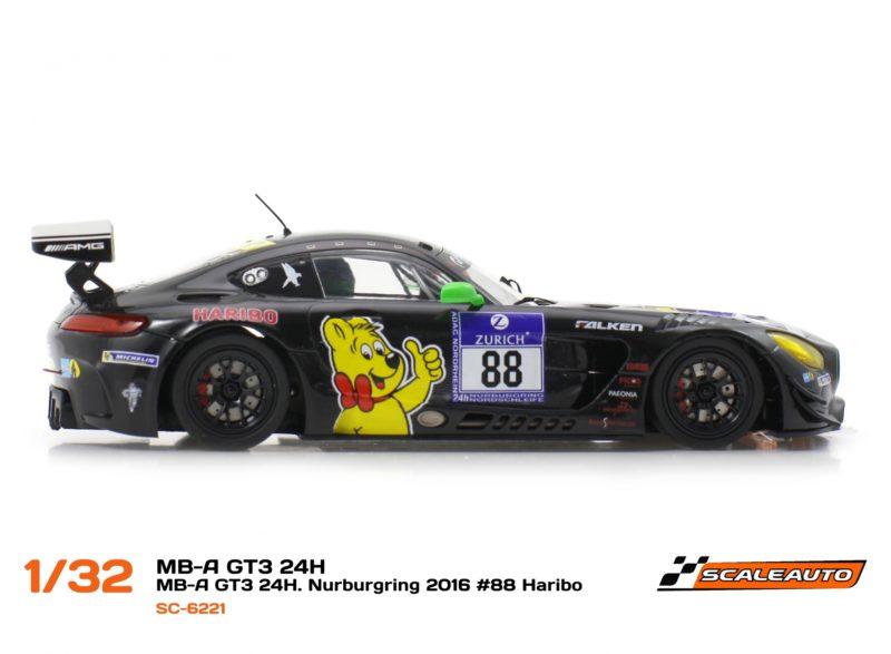 MB-A GT3 third – 24H Nurburgring 2016 #88 SC-2221