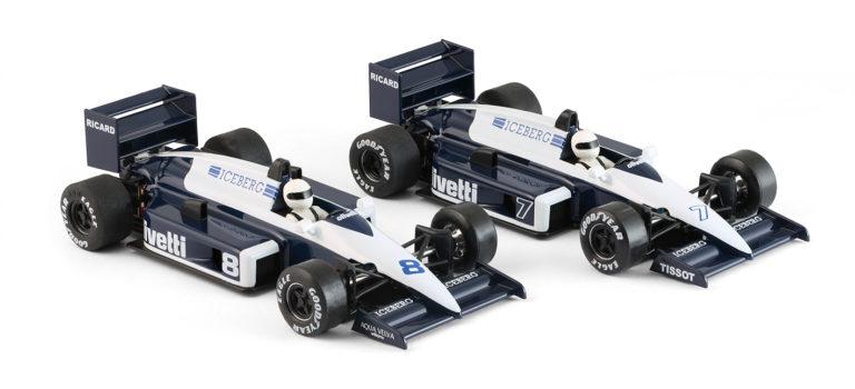 NSR Slot: les deux Brabham Olivetti 1985