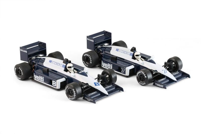 NSR Slot les deux Brabham Olivetti 1985