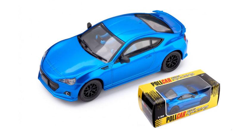 Policar CT01x Subaru BRZ - bleu