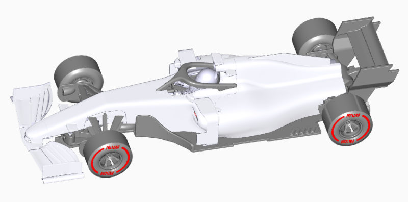 Réf PO-CAR07E - White (blanche)