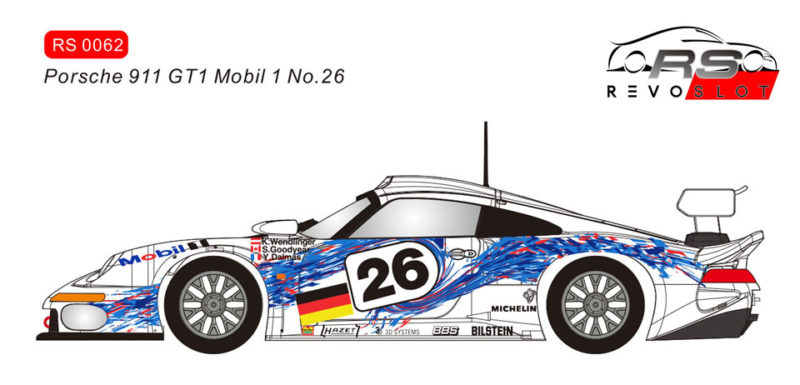 RS0062 - Porsche 911 GT1 #26 Mobil 1 LM 1996 - Y.Dalmas, S.Goodyear, K.Wendlinger