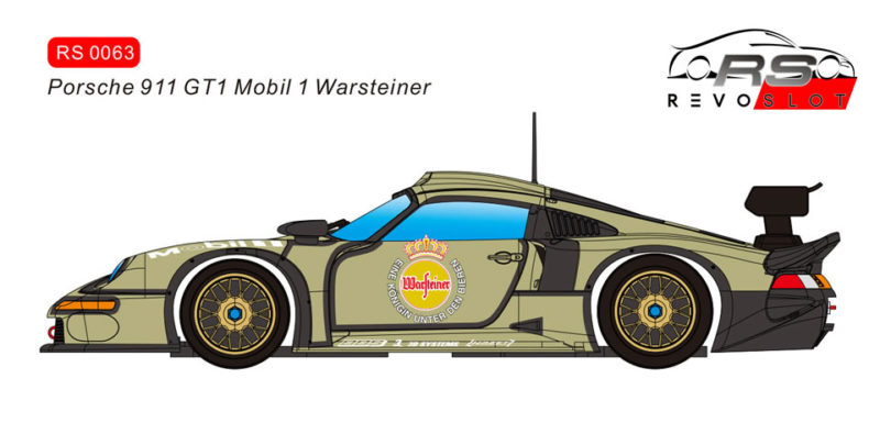 RS0063 - Porsche 911 GT1 - Mobil1 Warsteiner – Version Test Car 1996