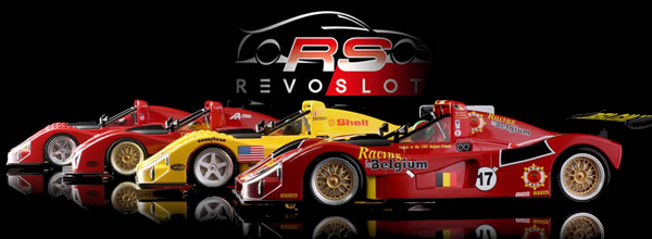 Revoslot: les photos des nouvelles Ferrari 333 SP à venir
