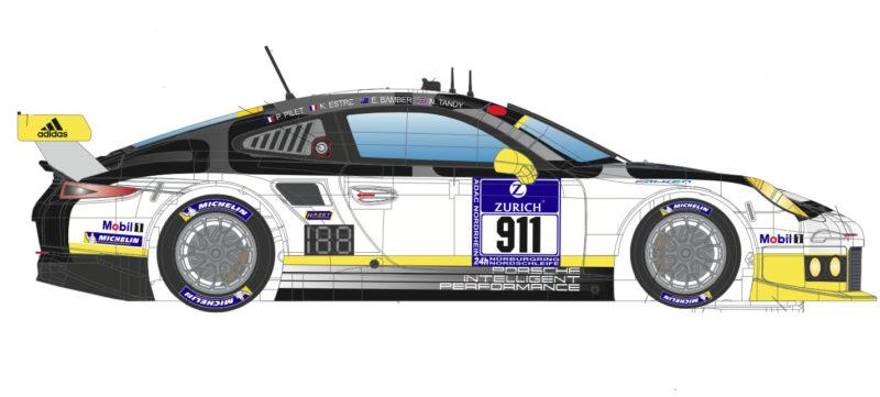 SC-6212R P911 GT3 Nurburgring 2016 # 911