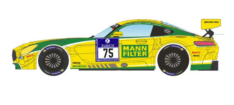 SC-6229R AMG GT3 Nurburgring 2016 # 75