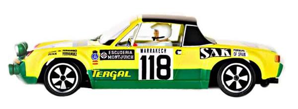 SRC: La Porsche 914/6 GT Rallye Monte-Carlo 1971