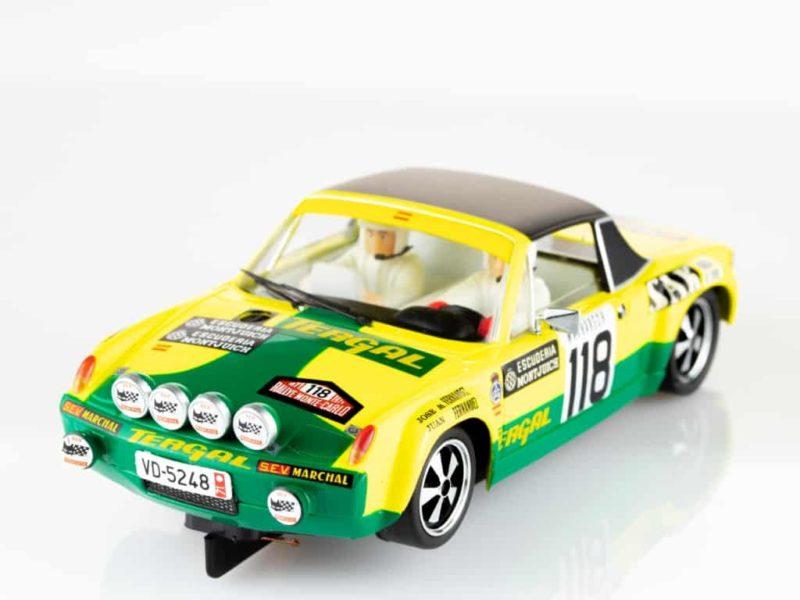 SRC La Porsche 9146 GT Rallye Monte-Carlo 1971