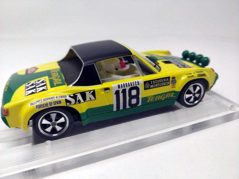 SRC les photos de la Porsche 9146 GT Rallye Monte-Carlo 1971