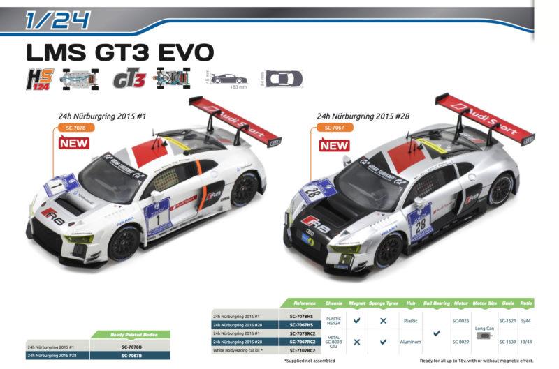 Scaleauto - LMS GT3 1-24