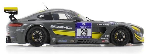 Scaleauto la MB-A GT3 HTP Motorsport Kstools 24h Nurburgring 2016