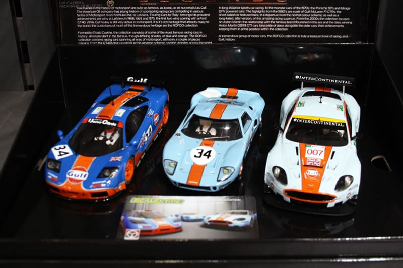 Scalextric le coffret Collection Gulf Triple Pack - C4109A