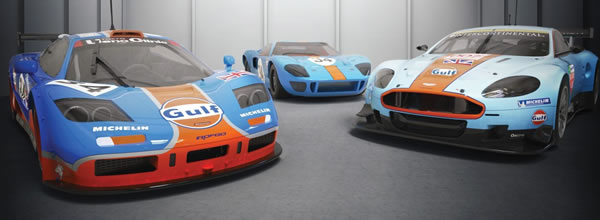 Scalextric: le coffret Collection Gulf Triple Pack - C4109A