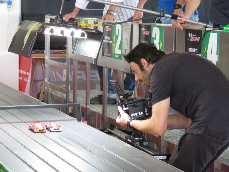 BRM making of du spot vidéo l'Alfa GTA