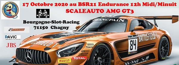 BSR21 annonce sa MidiMinuit AMG GT3 Scaleauto