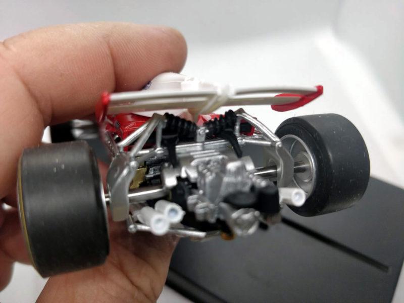 La réplique de Ferrari 312 B2 de Policar est très réussie.