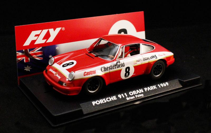 Fly Car Model La Porsche 911S ATCC Chesterfield - Brian Foley