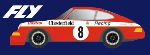 Fly Car Model La Porsche 911S ATCC Chesterfield - Brian Foley