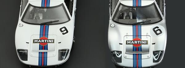 NSR Slot Deux GT40 Martini Racing en juillet