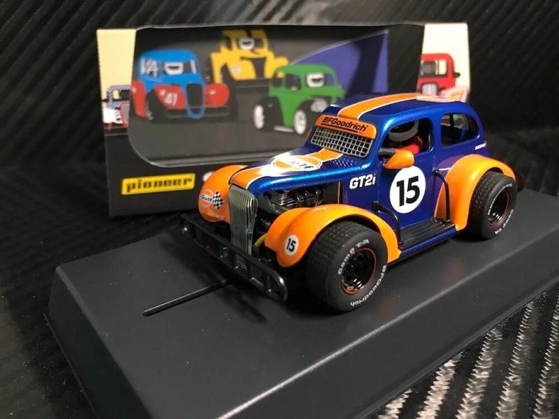 Pioneer P076 Chevy Legends Gulf Team Dark Blue 15