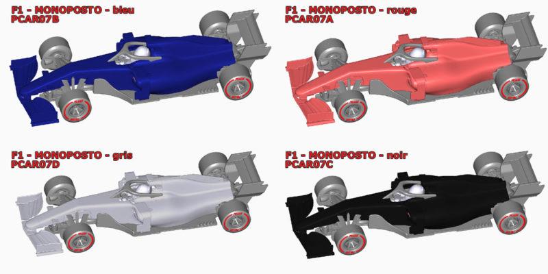 """Policar Des détails sur la mécanique des F1 Generic """"Monoposto"""""""