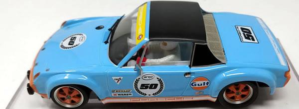 """SRC: La Porsche 914/6 GT """"Gulf 50e anniversaire"""""""