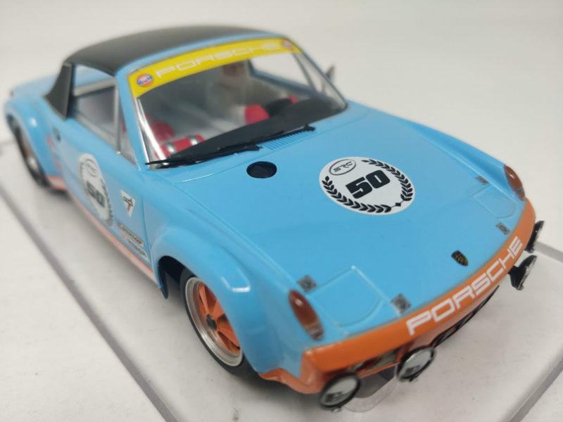 SRC La Porsche 9146 GT Gulf 50e anniversaire