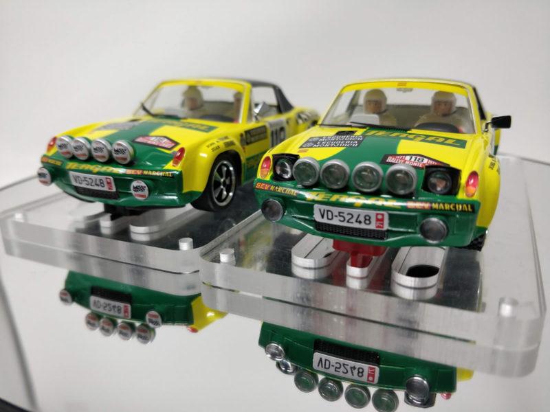 SRC Les deux version de la Porsche 9146 GT Monte-Carlo 71