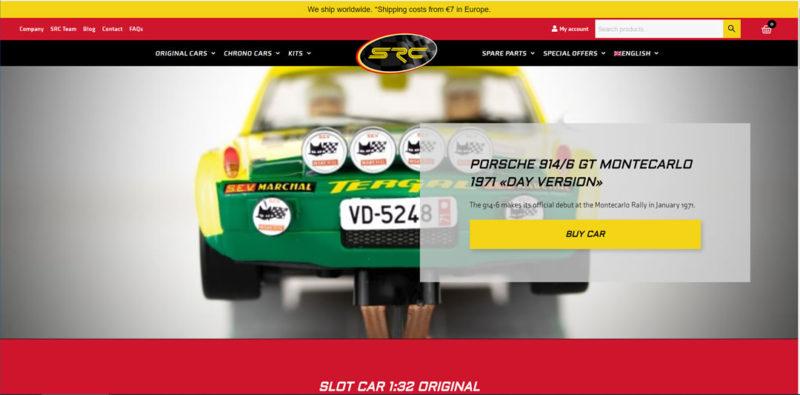 SRC: Un nouveau site Internet pour la marque