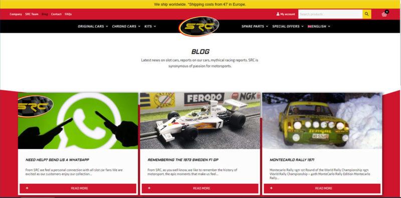 SRC Un nouveau site Internet pour la marque - Le Blog
