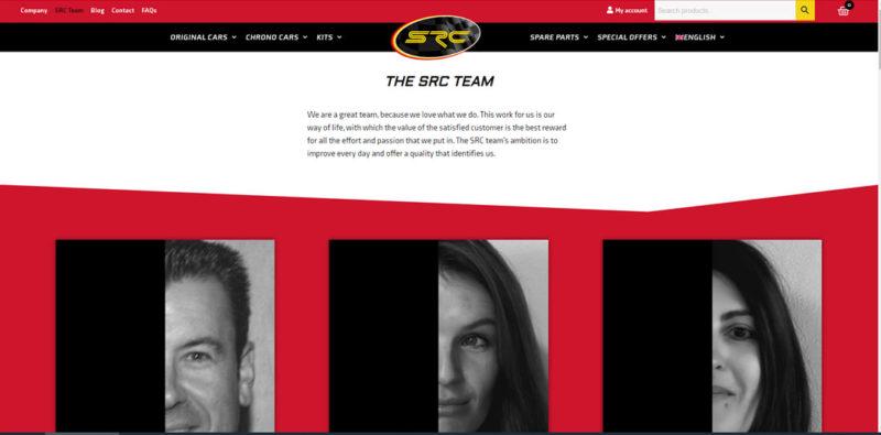 SRC Un nouveau site Internet pour la marque - The Team