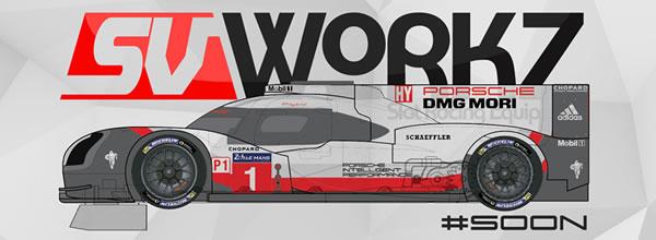 SV Workz La Porsche 919 Hybrid et un projet pour une grande marque de slot