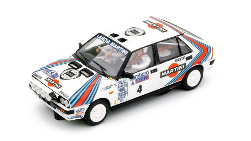 Team Slot la Lancia Delta HF Juha Kankkunen RAC Rallye 1987