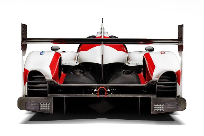 Toyota LMP1 dans sa version Le Mans Winner 2019