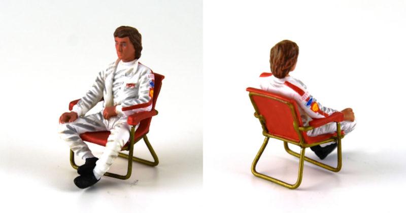 figurine de Jochen Rindt - le Mans miniatures