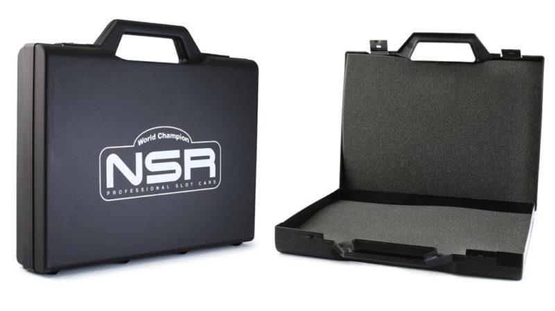 Valise Noir avec logo NSR (1791EVO)