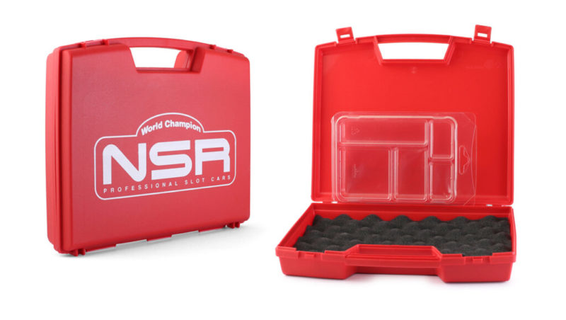 Valise Rouge avec logo NSR (1991EVO)