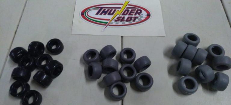 Thunderslot: une nouvelle gamme de pneus racing pour slot cars.