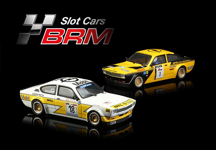 BRM annonce les deux nouvelles livrées de l'Opel Kadett GTE