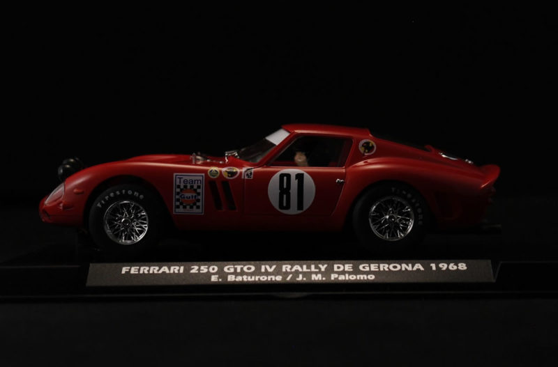FERRARI GTO RALLY GERONA 1968. E. BATURONE Ref A2018