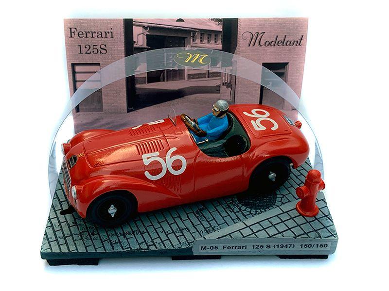 Ferrari 125 S - Première victoire officielle